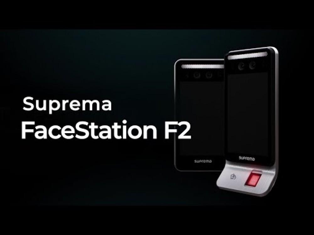 Embedded thumbnail for Suprema FaceStation F2 - Piekļuves kontrole ar temperatūras mērīšanu