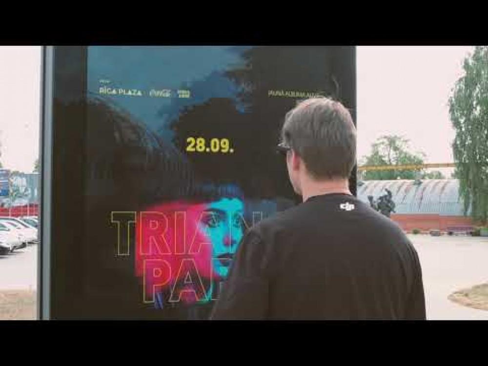 Embedded thumbnail for Valmierā uzstādīts interaktīvs digitālais kiosks
