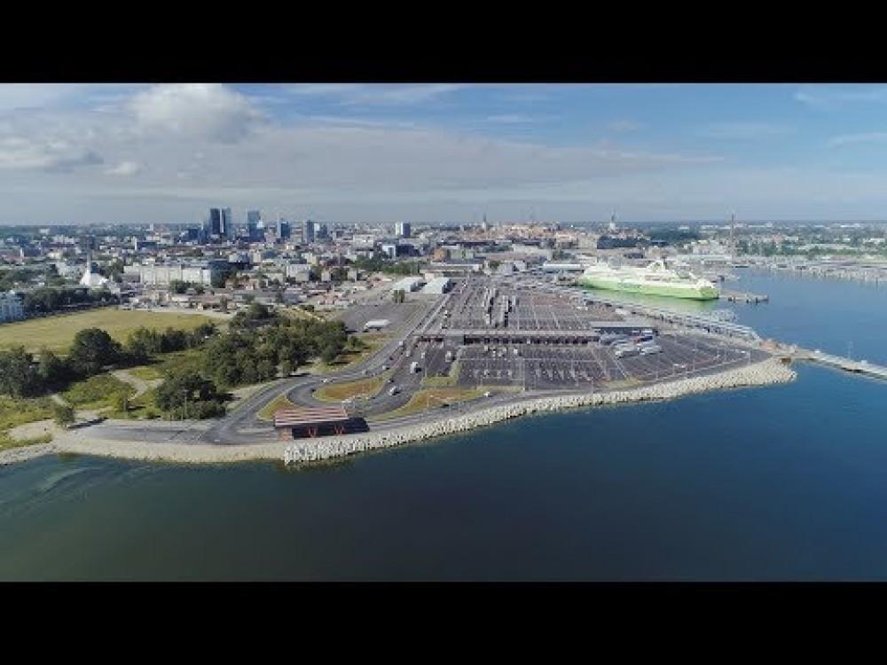 Embedded thumbnail for VIDEO:Smart Port   - Satiksmes vadības sistēma Tallinas ostā