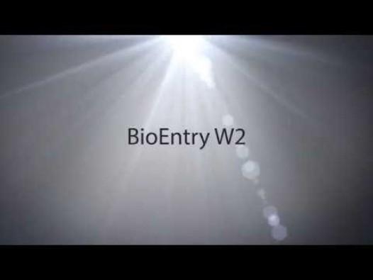 Embedded thumbnail for BioEntry W2 āra IP pirkstu nospiedumu lasīšanas ierīce